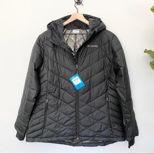 *NEW* Black COLUMBIA Heavenly HDD Jacket, 1X